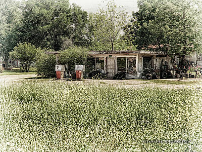 Photograph - Gas 25 Cents by Charles McKelroy