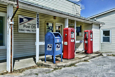 Photograph - Gas And Mail by Paul Ward