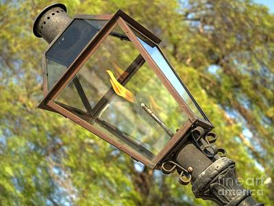 Gas Lamp Photograph - Gas Lamp by John G Kavanagh