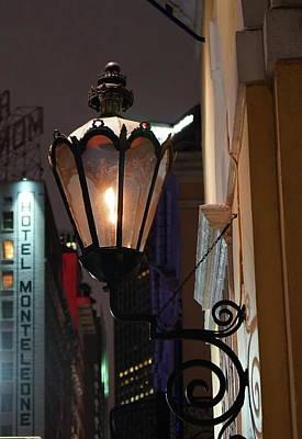 Gas Lamp Photograph - Gas Light by Chuck Johnson