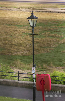Photograph - Gas Light In Lytham St. Annes - England by Doc Braham
