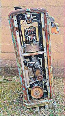 Photograph - Gas Pump  by Beth Ferris Sale