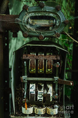 Photograph - Gas Pump by Debra Fedchin
