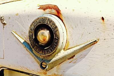 Photograph - Gas Pump Logo by Brian Sereda