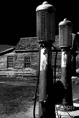 Photograph - Gas Pumps Of Bodie by Paul W Faust - Impressions of Light