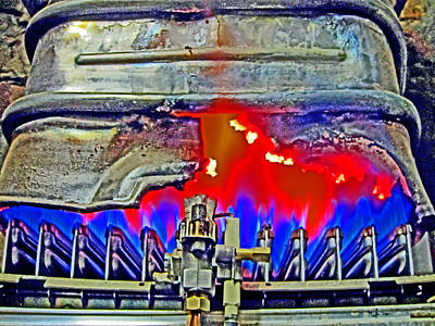 Gas. Raging Fire. Textures. Original