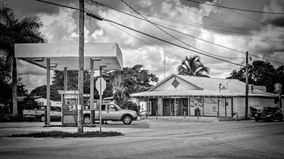 Photograph - Gas Station by Rudy Umans