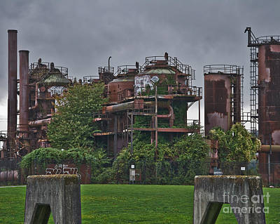 Photograph - Gas Works by Kirt Tisdale