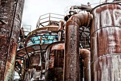 Photograph - Gas Works Park by Matthew Ahola