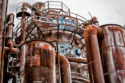 Photograph - Gas Works Park Two by Matthew Ahola