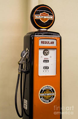 Photograph - Gas Your Hog Here by Steven Parker