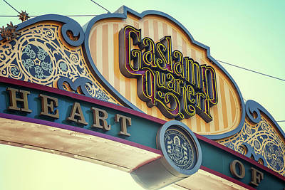 Gaslamp Close Up Art Print