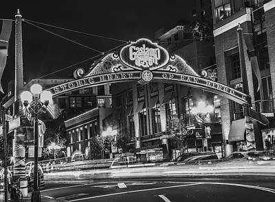 Photograph - Gaslamp Quater by Hyuntae Kim