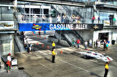 Gasoline Alley 2015 Print by Josh Williams