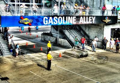 Gasoline Alley Art Print by Josh Williams