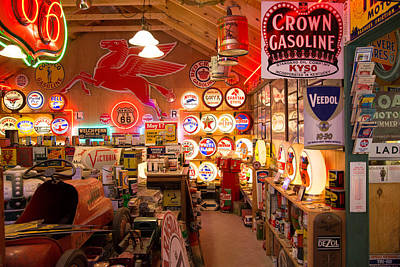 Photograph - Gasoline Alley by Robert Brusca