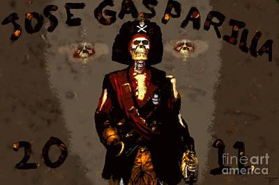 Gasparilla 2011 Art Print by David Lee Thompson