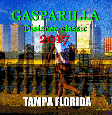 Digital Art - Gasparilla Classic 2017 by David Lee Thompson