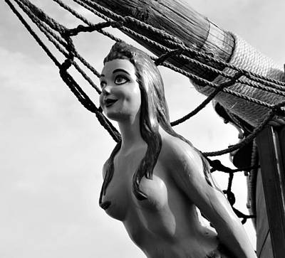 Female Pirate Photograph - Gasparilla Girl by David Lee Thompson