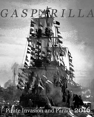 Photograph - Gasparilla Invasion 2016 by David Lee Thompson