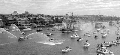 Photograph - Gasparilla Pano Work 09 by David Lee Thompson