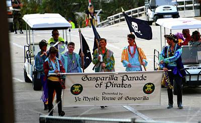 Photograph - Gasparilla Parade Banner by David Lee Thompson