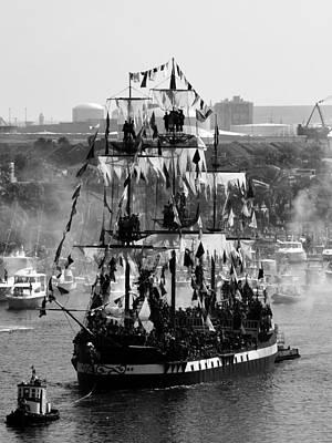 Gasparilla Photograph - Gasparilla Ship 2013 by David Lee Thompson