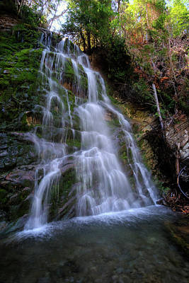 Digital Art - Gaspe Falls by Patrick Groleau