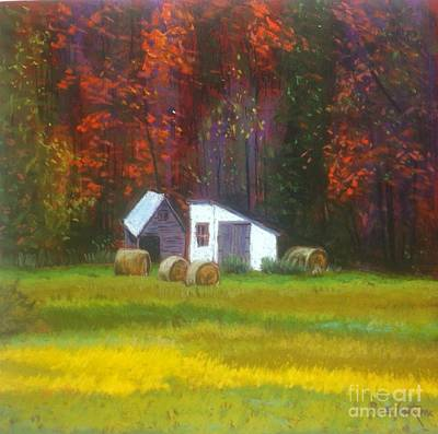 Pastel - Gaspereau Valley  by Rae  Smith PAC