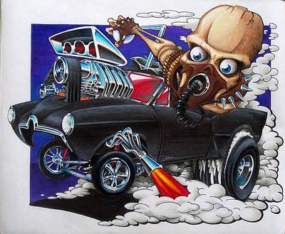 Gasser Art Print by Jason Hunt