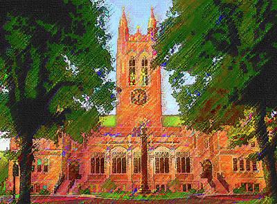 Gasson Hall  Art Print