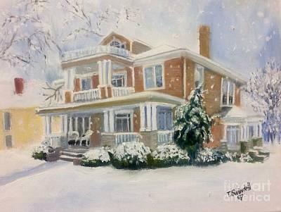 Alabama Painting - Gassen Home by Tina Swindell