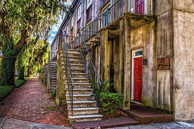 Roaring Red - Gaston Street Savannah by Gestalt Imagery