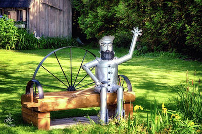 Photograph - Gaston The Knight In Shining Armour by Pennie McCracken