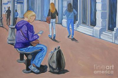 Painting - Gastown by Sandra Yuen MacKay