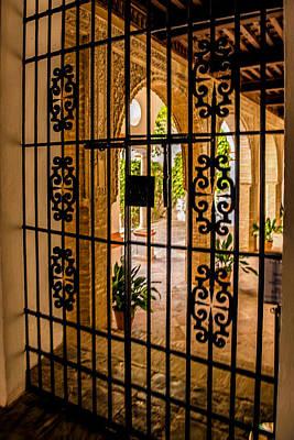 Muneca Photograph - Gate - Alcazar Of Seville - Seville Spain by Jon Berghoff