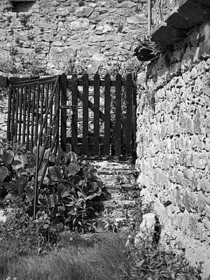 Thomas Kinkade Royalty Free Images - Gate at Dunguaire Castle Kinvara Ireland Royalty-Free Image by Teresa Mucha