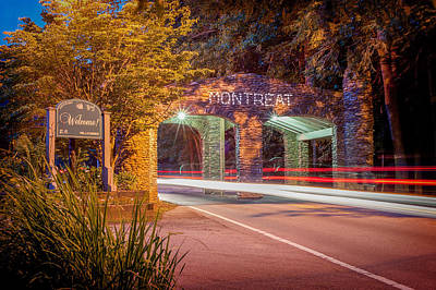 Photograph - Gate At Night by Joye Ardyn Durham