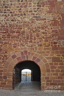Middle Ages Photograph - Gate At The Castle Of Silves by Angelo DeVal