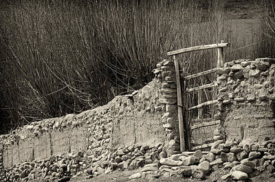 Photograph - Gate by Hitendra SINKAR