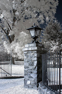 Photograph - Gate In Petersburg National Battlefield by Liza Eckardt