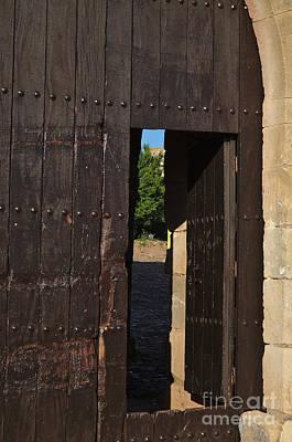 Mediterranean Photograph - Gate Of A Medieval Castle In Algarve by Angelo DeVal