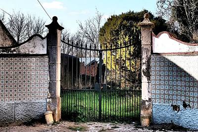 Photograph - Gate Of A Quinta 02 by Dora Hathazi Mendes
