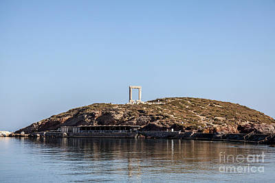 Photograph - Gate Of Naxos by Antonis Androulakis