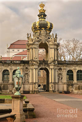 Photograph - Gate Of Zwinger by Elvis Vaughn