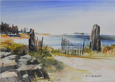 Painting - Gate Shore Drive by P Anthony Visco