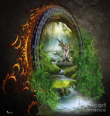 Gate To Another World Art Print
