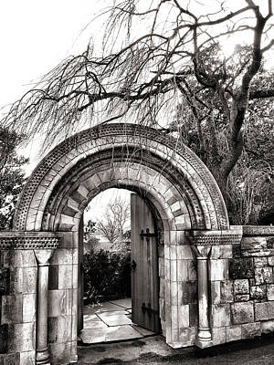 Gate To Bishop's Garden Art Print