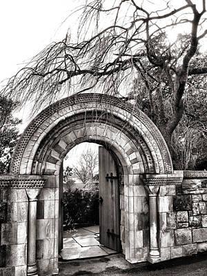 Gate To Bishop's Garden Print by Steven Ainsworth