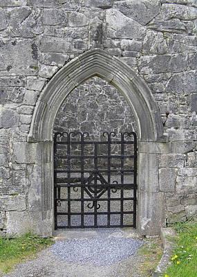 Gate To Irish Castle Art Print